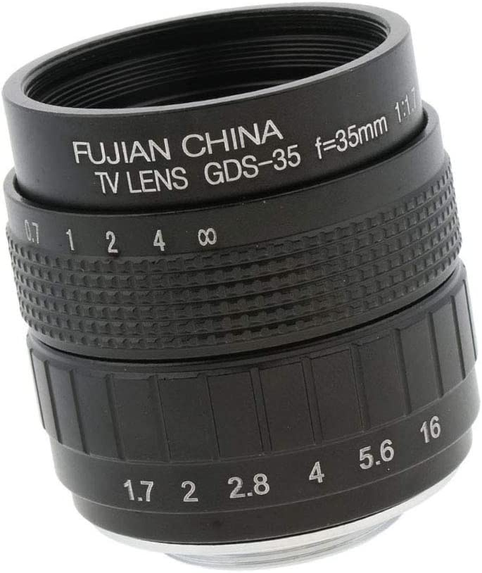 Objektive 35mm F1.7 Manual Focus Prime Fixed Lens For Olympus ...
