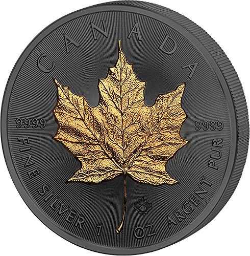 Power Coin Maple Leaf Ahornblatt 30 Jahrestag Golden Enigma 1 Oz