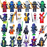 Best Toys Compatible With LEGOs - INGLY Ninjago Minifigures Building Blocks Toys with Accessories Review