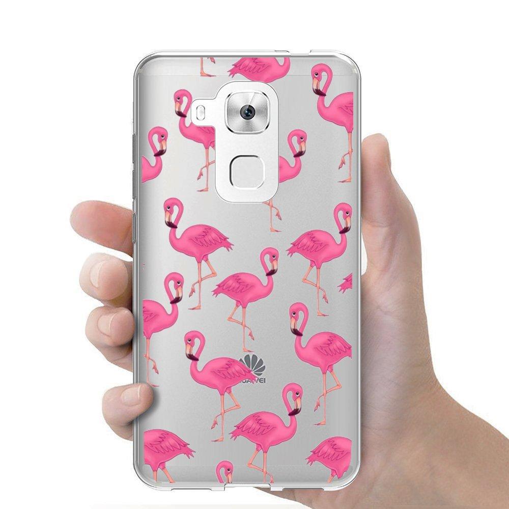 Funda carcasa TPU Transparente para Huawei Nova Plus diseño ...