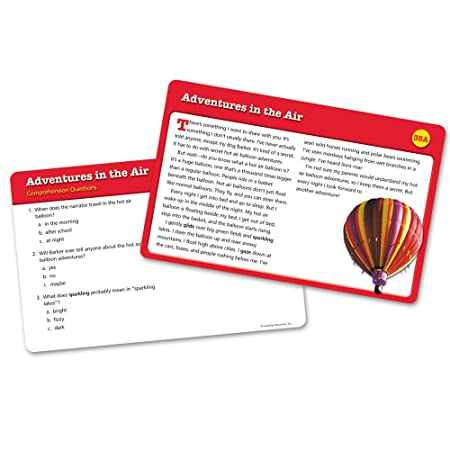 Amazon.com : Learning Resources Reading Comprehension Card Set 2 ...