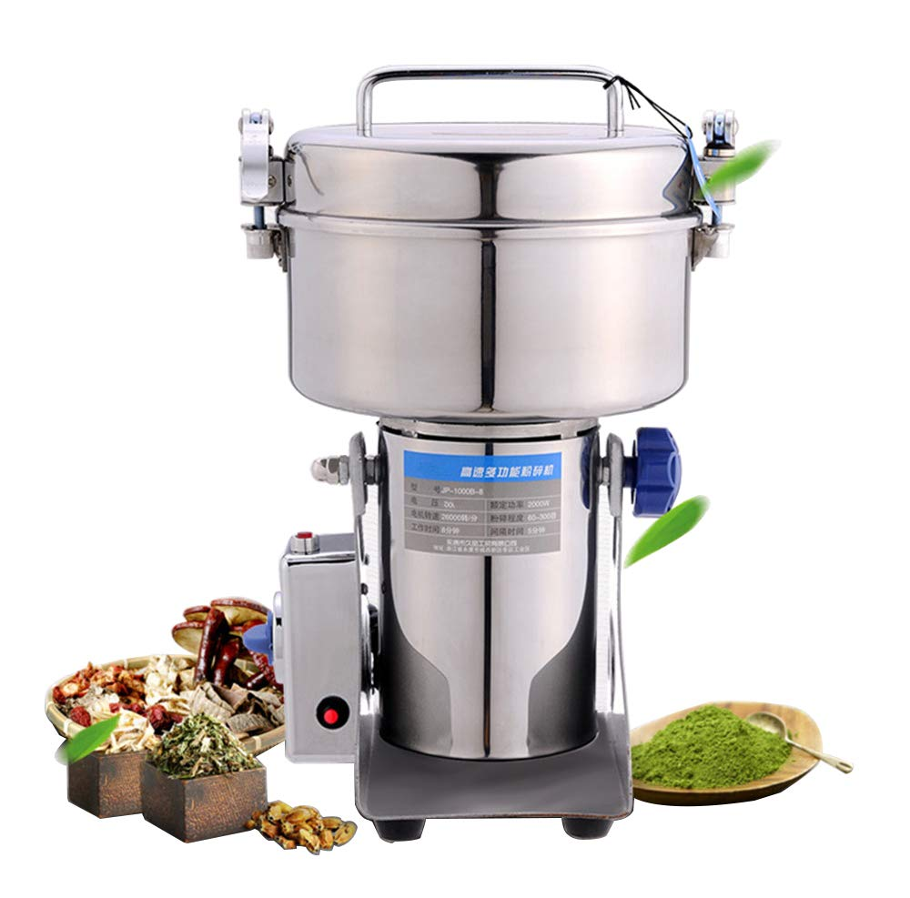 NEWTRY 1000g Pulverizer Blender Mixer Household Food Mill Grain Grinder Superfine For Kitchen Chinese Medicinal Materials Spice Coffee Herb Flavoring 110V/220V by NEWTRY (Image #1)