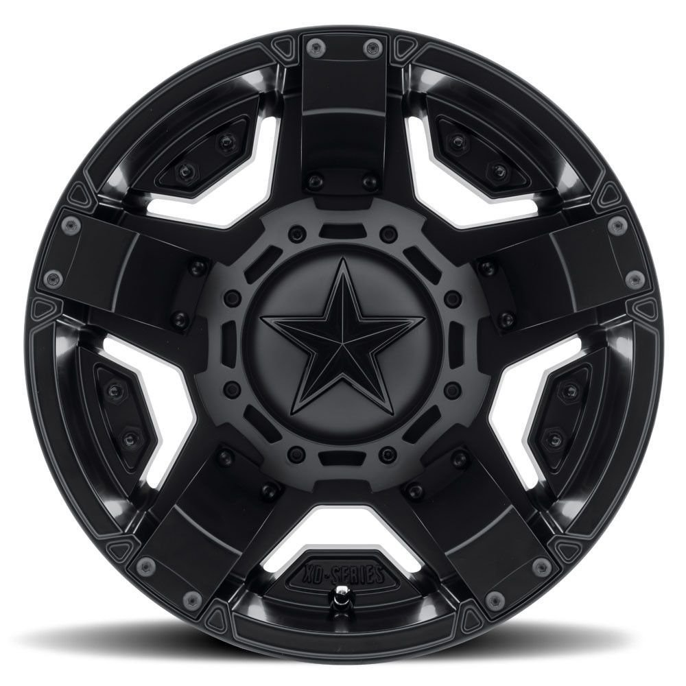 14-19 POLARIS RANRZR1000XE: KMC Wheels XD811 Rockstar II Wheel (Front/Rear / 14x7 +0mm 4/156) (Matte Black) XS81147044700