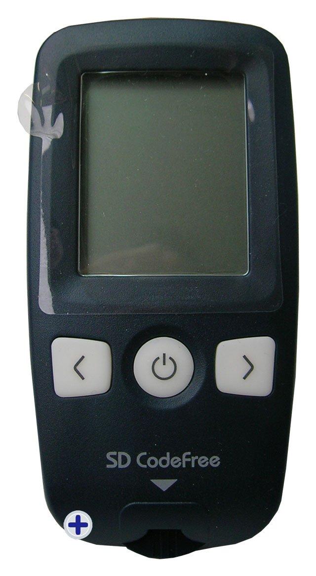 Codefree Kit SD - Medidor de glucosa en sangre, incluye tiras, lancetas y estuche: Amazon.es: Salud y cuidado personal