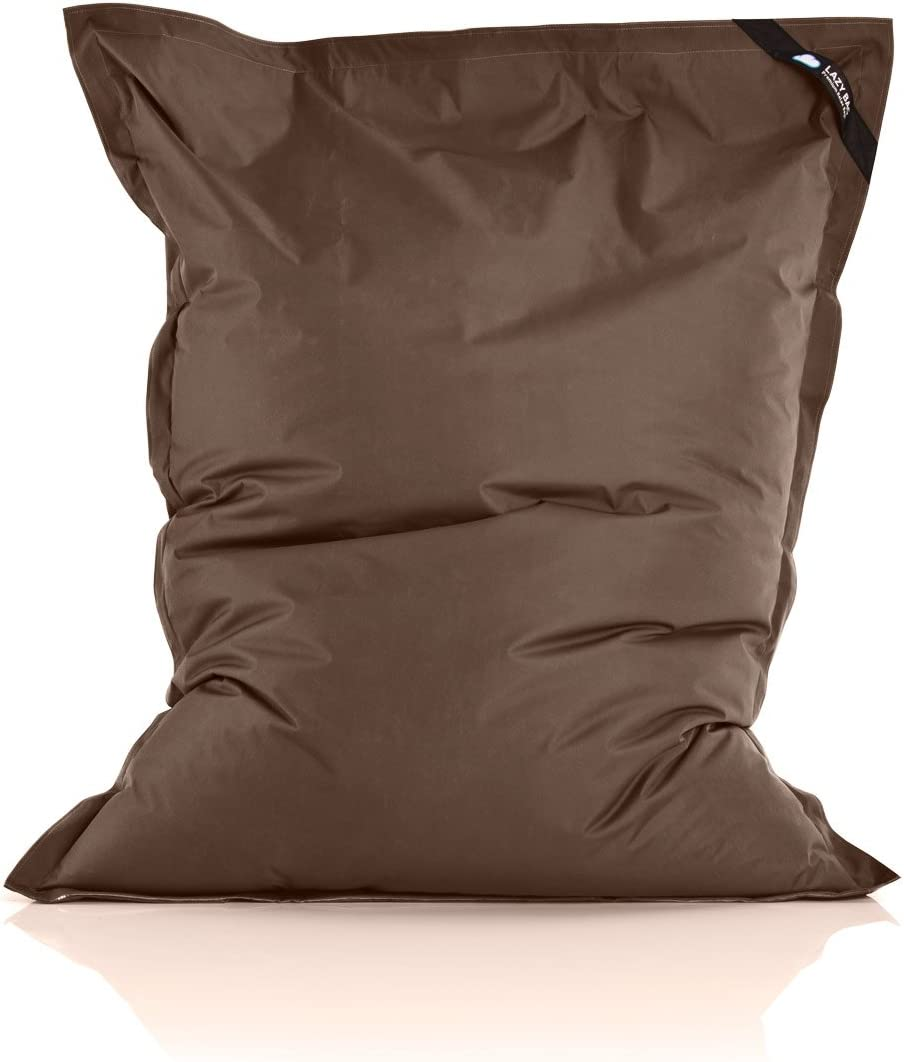 Orange Lazy Bag Original Indoor /& Outdoor Sitzsack XXL 400L Riesensitzsack Sitzkissen Sessel f/ür Kinder /& Erwachsene 180x140cm
