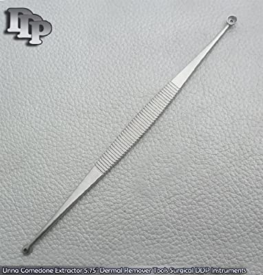 """Unna Comedone Extractor 5.75"""" Dermal Remover Tools Surgical DDP Instruments"""