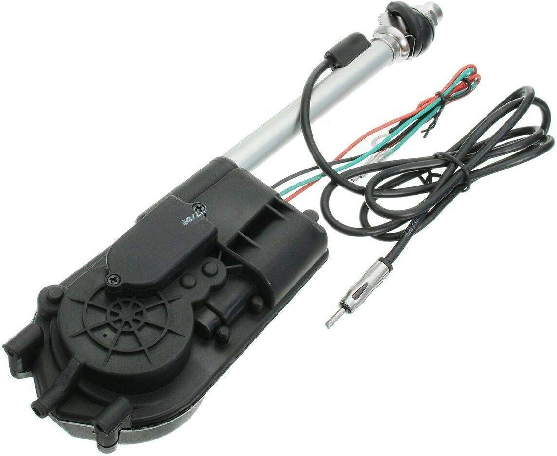 f/ür Kfz-Ersatz-Fl/ügelhalterung FM-Radio Maso Elektrische Antennenmontage-Set vollautomatische Antenne