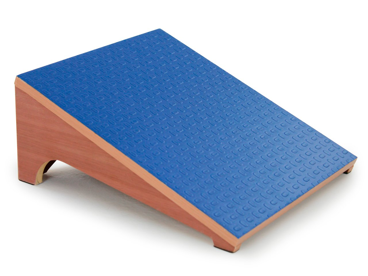 3B Scientific Eucalyptus Wood Slant Board for Controlled Stretching, 15'' Length x 14'' Width x 6-1/2'' Height