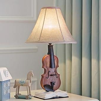 Creatif Lampe De Table Le Violon Lampe De Chevet Table De Chevet