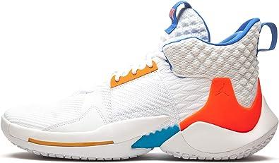 Amazon.com | Jordan Nike Air Why Not 0.2 OKC Home Russell ...