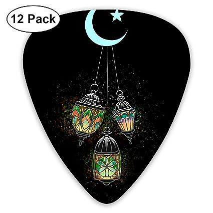 Púas para guitarra con lámpara árabe iluminada, 12 unidades ...