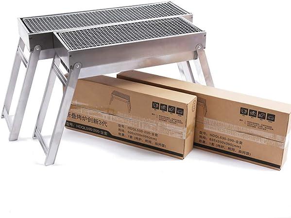 DSHBB Barbecue Grill, Portable Barbecue Grill, Parrillas y Parrillas Interiores Stand portátil Camping Camping Grills Stoves (tamaño : HDL500-200): Amazon.es: Hogar