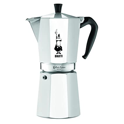 The Original Bialetti Moka Express Made in Italy 12-Cup