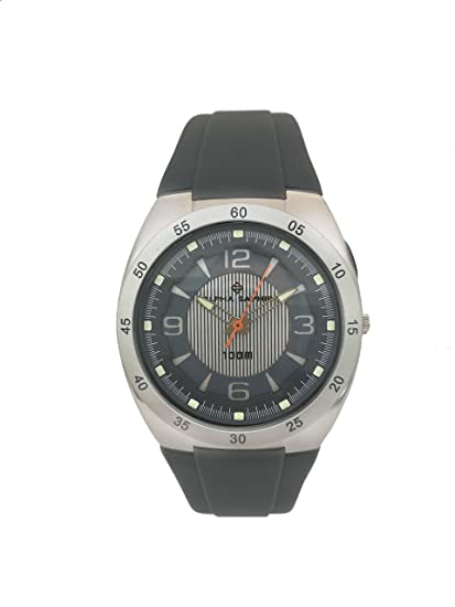 Alpha Saphir Reloj Analógico para Hombre de Cuarzo con Correa en Plástico BM505-121: Amazon.es: Relojes