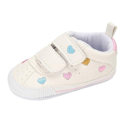 Minuya Neugeborenes Baby Mädchen Prinzessin Schuhe Weiche Sohle Anti ...
