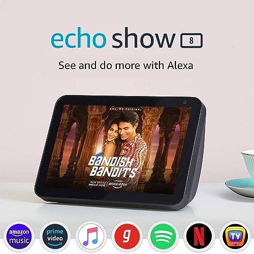 Upto 40% off on Echo Show 8 + Smart Home Combo @ Amazon