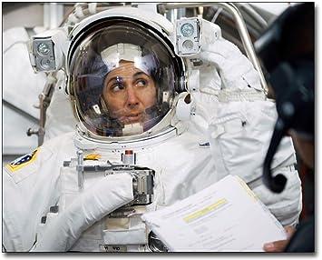 Amazon.com: La Nasa astronauta Nicole Stott traje espacial ...