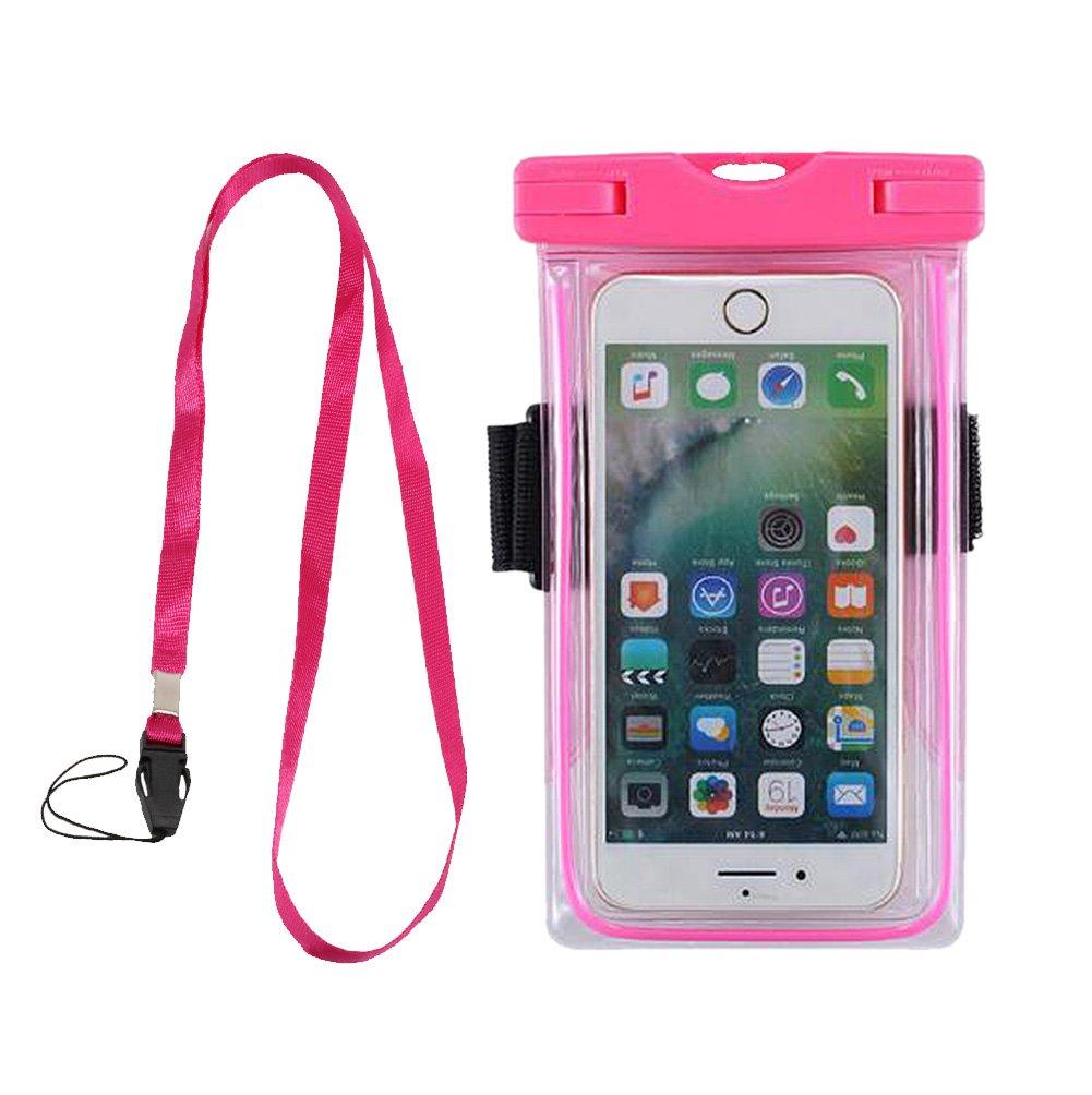 6 bo/îtier /étanche de t/él/éphone avec cordon poche sec avec brassard bande dessin/ée sac scell/é pour t/él/éphone intelligent iphone 7
