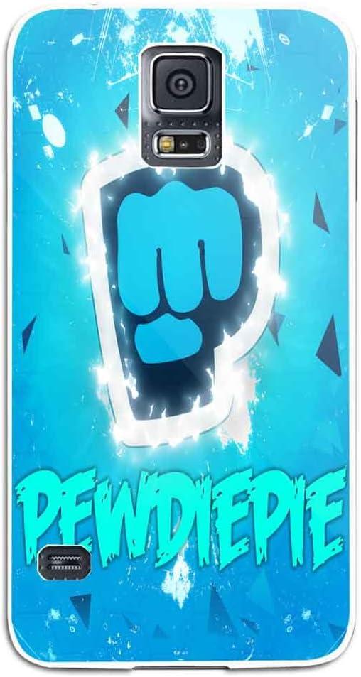 Pewdiepie Logo Wallpaper Fan Art For Samsung Galaxy S5 White Case Amazon Co Uk Electronics