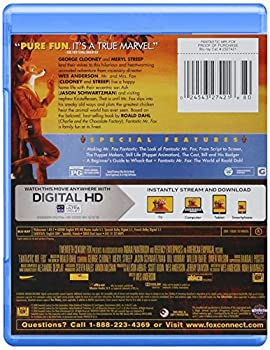 Fantastic Mr. Fox Blu-ray 1