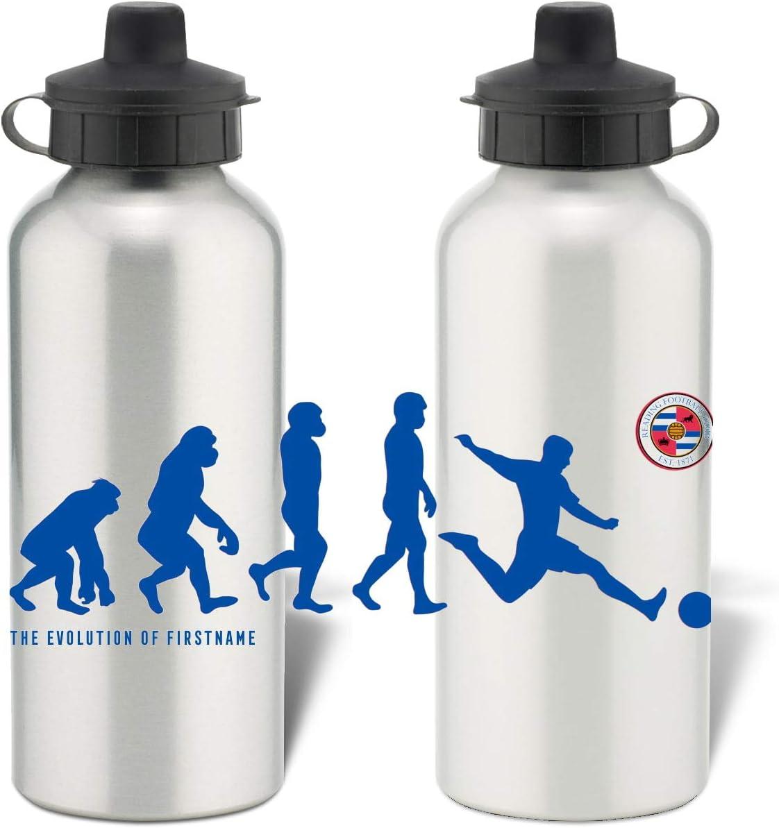 Botella de agua deportiva de aluminio personalizable Reading FC Player Evolution