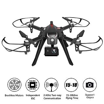 Ydq GPS Drone, RC Aviones con 2.4Ghz Control Remoto, Cuadricoptero ...