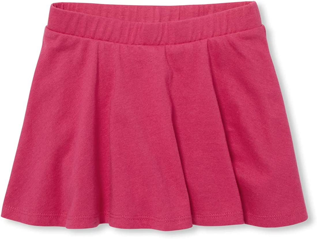 The Childrens Place Baby Girls Matchable Skorts
