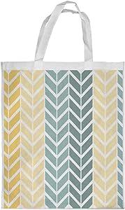 Motifs Printed Shopping bag, Large Size