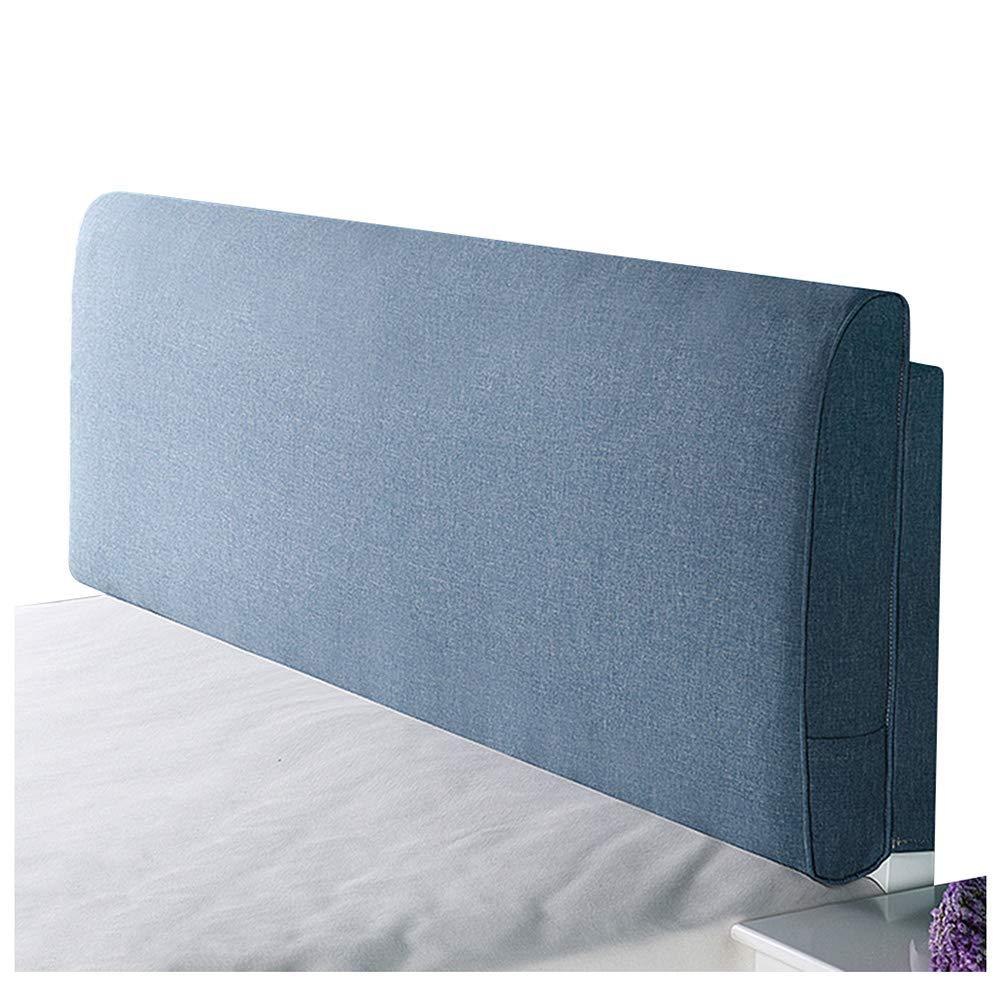 2019春大特価セール! ベッドサイド クッション ベッドの背もたれヘッドボード付き/なしのフィットベッド リネン 120cm 取り外し可能かつ洗濯可能、 8色 8色 120cm Blue-A (色 : Yellow-A, サイズ さいず : 200cm) B07RBS3W1Z 120cm Blue-A Blue-A 120cm, オーシャンズ:fb8318f3 --- arianechie.dominiotemporario.com