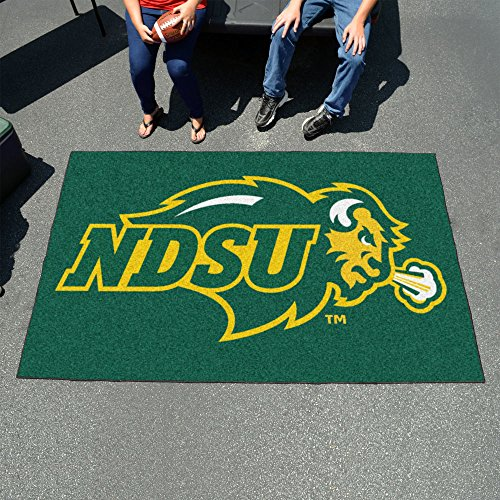 - Fanmats Ncaa College Sports Team Athletic Outdoor Tailgating Party Area Rug North Dakota State Floor Ulti-Mat 60