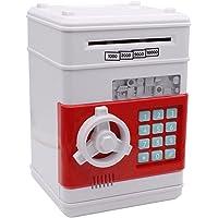 kumbaralar, çocuklar için Netspower güvenlik kumbara dijital elektronik kumbara, Mini-ATM-bozuk para tasarruf edin Bankalara Gelddose, bozuk para Spardosen Beyaz 301-00564-01A00