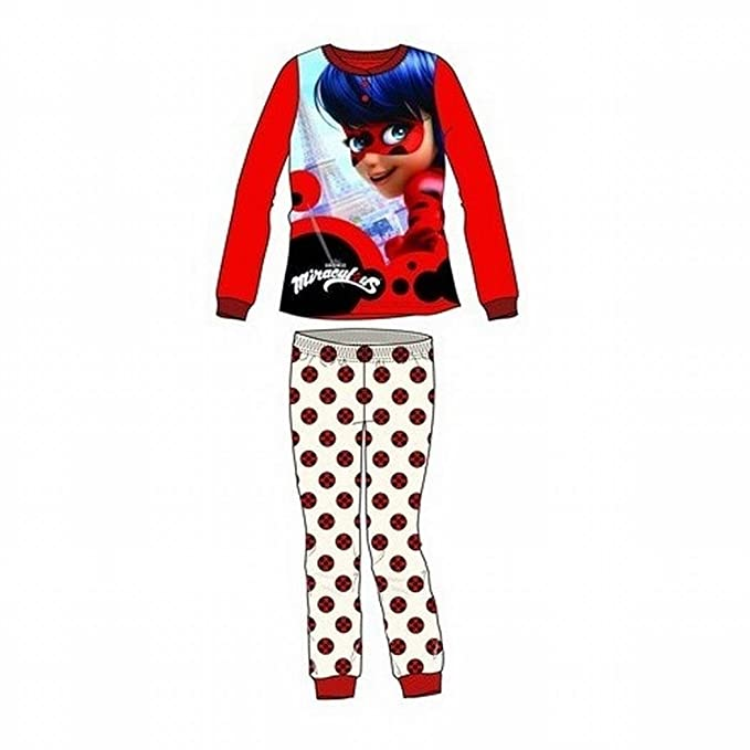 Pijama manga larga Ladybug Talla 4