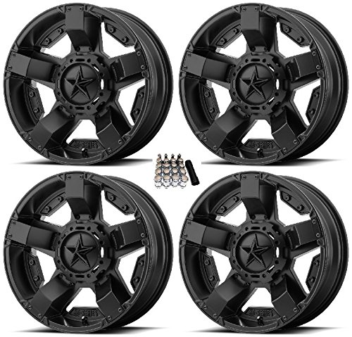 Amazon Com Xs811 Rockstar Ii Utv Wheelsrims Black 20 Polaris Rzr