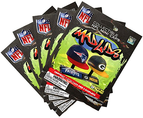 89156c46f3874 Mad Lids - NFL Series 1 - BLIND PACKS (5 Pack Lot)