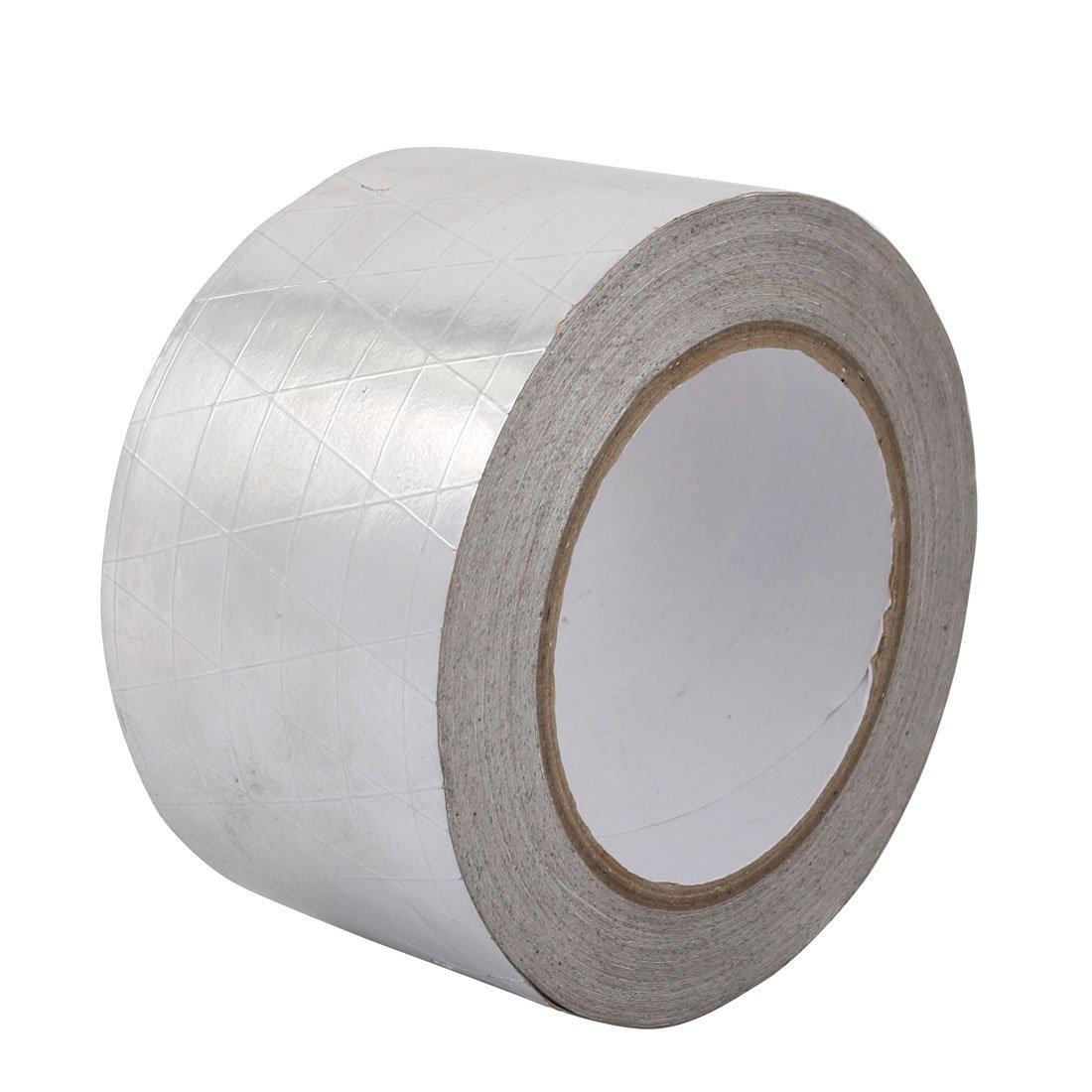 uxcell Aluminum Foil-Scrim-Kraft Insulation Jacketing Tape 20 Meter Length x 60mm Width