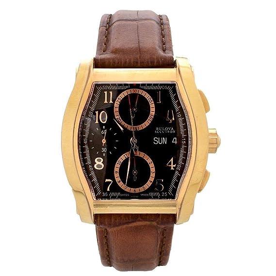 9723cc05a15 Bulova Accutron 64C000 orologio automatico ETA Valjoux 7750 Crono Day-Date   Amazon.it  Orologi