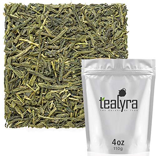 Tealyra - Bancha Ujitawara - Japanese Green Loose Leaf Tea - Light Taste - Low Caffeine - Organically Processed - 110g (4-ounce)