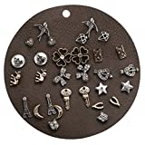 Search : Unique Queen Stainless Steel Men Women Unisex Vintage Skull Animal Punk Style stud Earrings