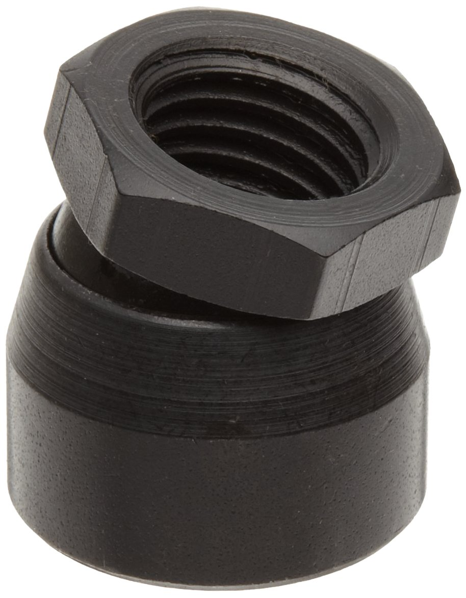 TE-CO 44304 Toggle Pad Black Oxide, 3/8-16 Thread Size (5-Pack)