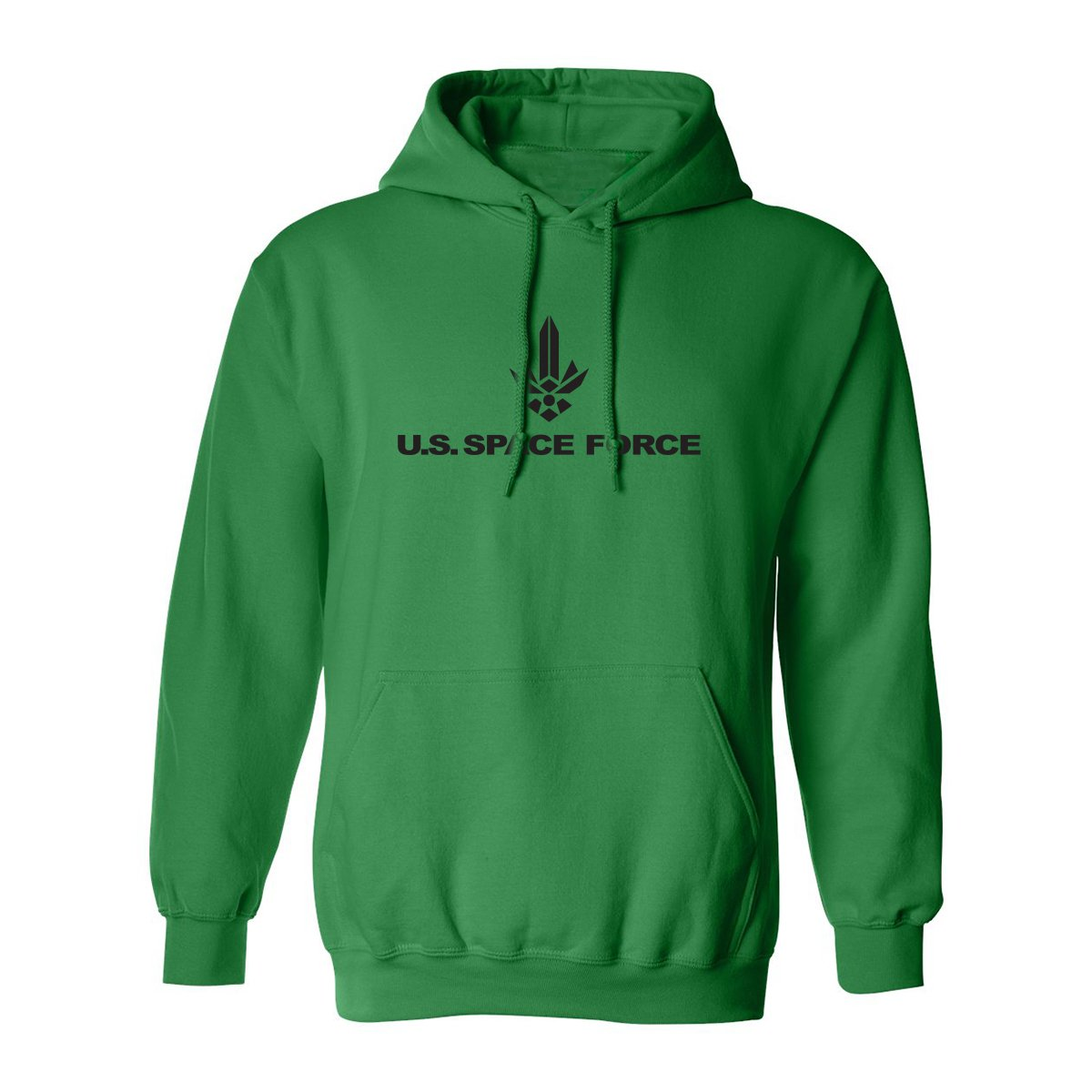 United States Space Force Logo 2 Adult Hooded Sweatshirt