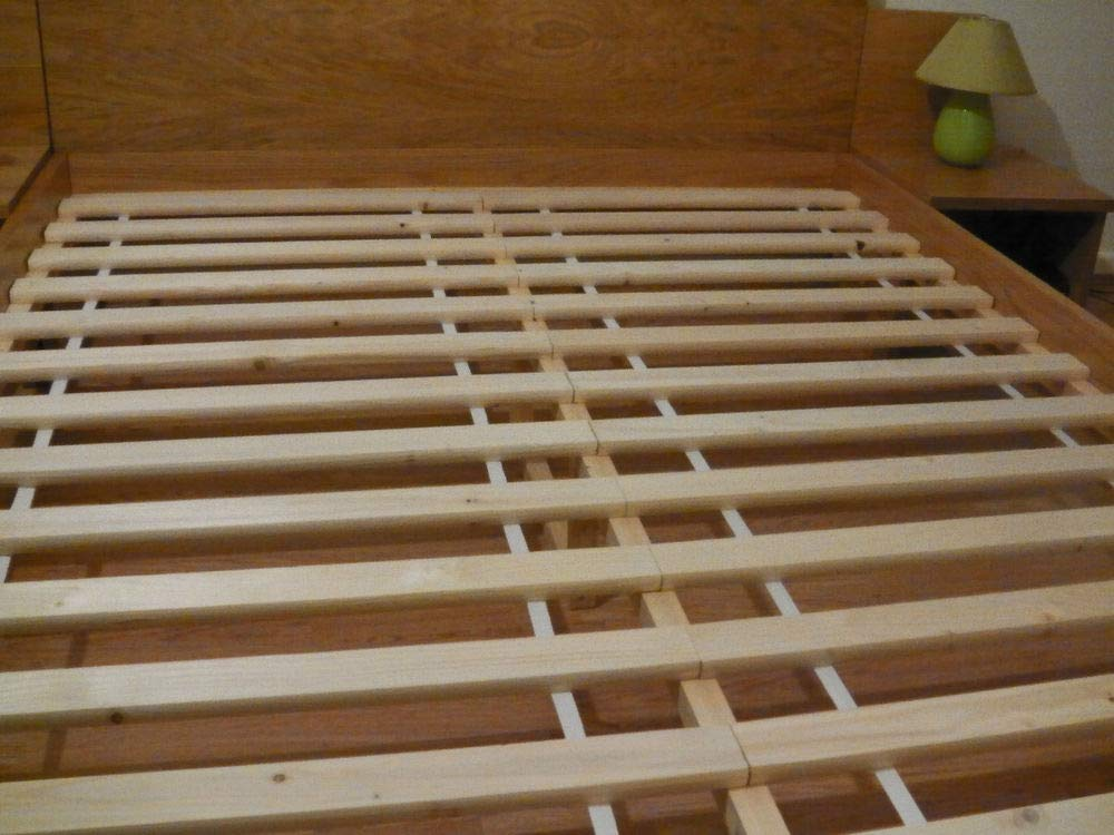 5ft Spring Well Wooden Bed Slats Replacement in size 4ft6//5ft double