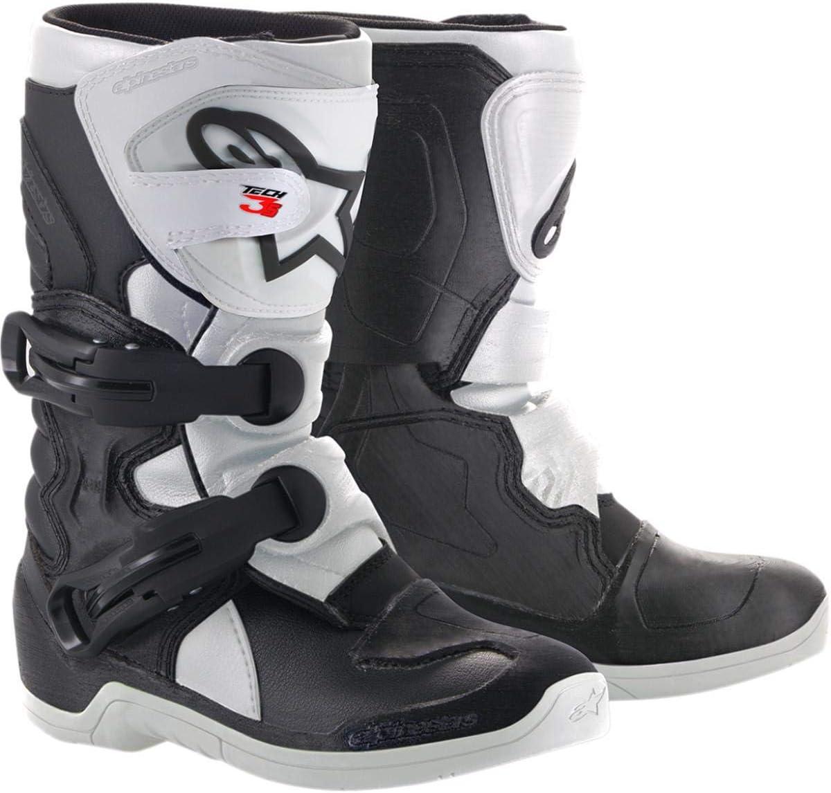 Alpinestars Kids Tech 3S Motocross Boot Black//White//Red 11