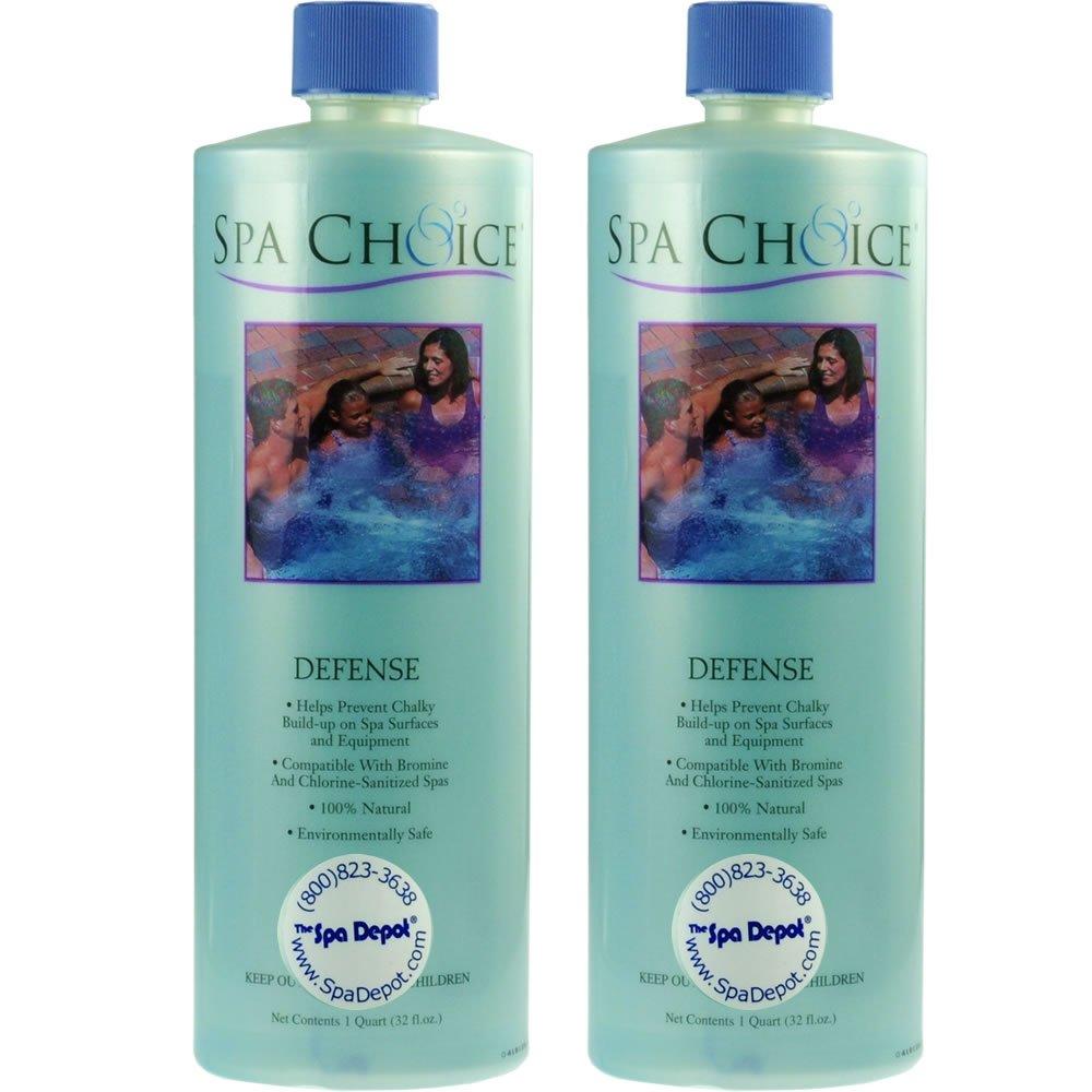 2-Pack Spa Defense - 2 x 32 oz. bottles hot tub defender (64 oz. total) by SpaChoice