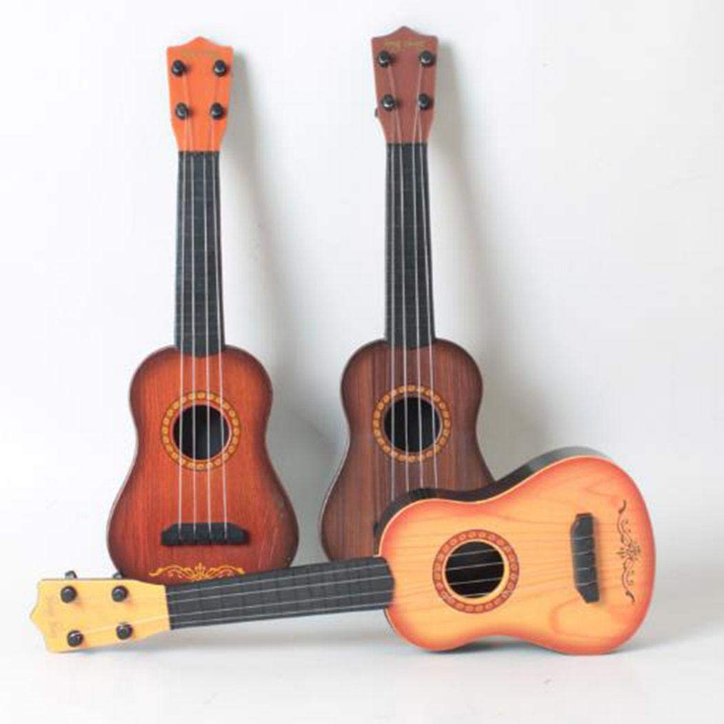 Legros8 Baby Musical Instrument Toy Children Funny Ukulele Guitar Educational Toys Guitars & Strings by Legros8
