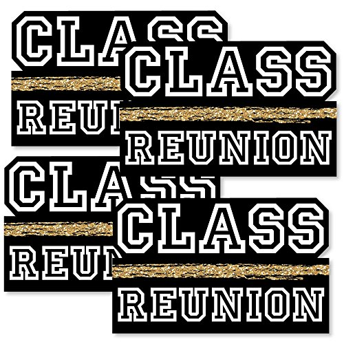 Reunited - Decorations DIY School Class Reunion Party Essentials - Set of 20