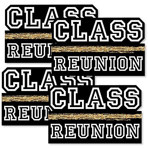 Reunited - Decorations DIY School Class Reunion Party Essentials - Set of 20 -