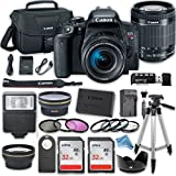 Canon EOS T7i DSLR Camera with 18-55mm IS STM Lens + 2 x 32GB Card + Free Accessory DigitalAndMore Kit