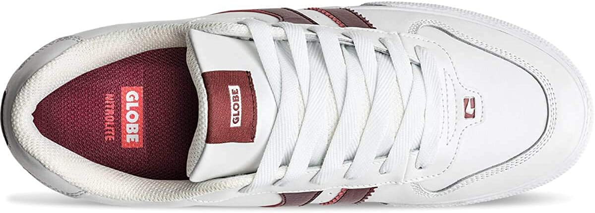 Globe Encore 2, Chaussures de skate homme Blanc Ecchymose