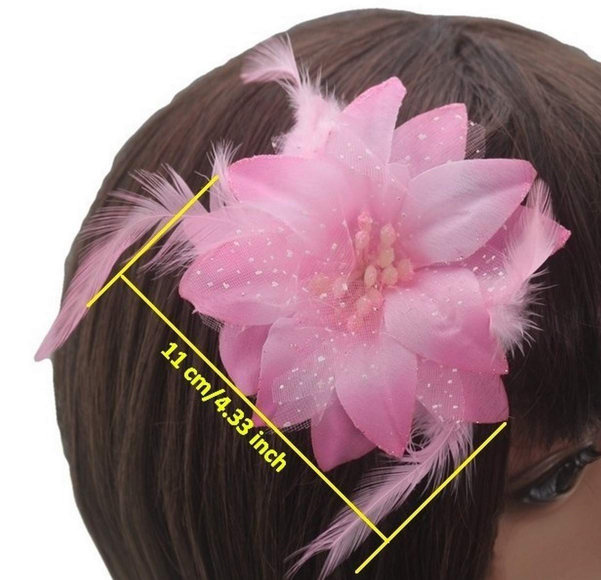 Damen Blumen Haarklammer Haarspange Haargreifer Haarnadel Clip Haarschmuck Super