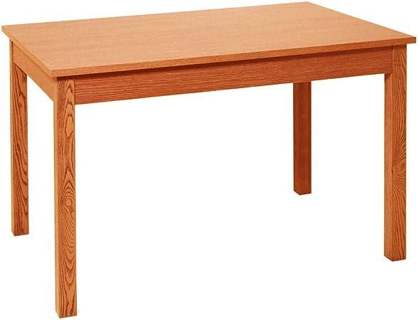 Tavolo Rettangolare Allungabile Ciliegio L120 160cm Arredamento Casa Firenze120 Amazon It Casa E Cucina